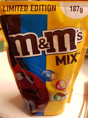 M&M's MIX Limted Edition 187g packs Reduced to clear @ Mill Road General store,