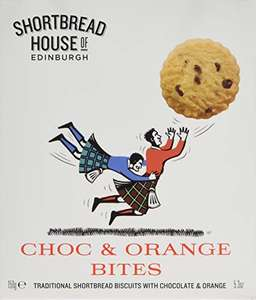 Shortbread House of Edinburgh Sporting Range Choc and Orange Bites in Box, 150 g, Pack of 4 £6.25 amazon prime