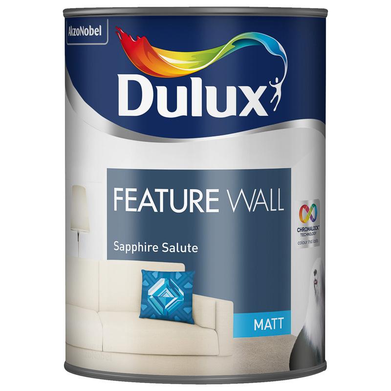 B&m dulux paint 1.25l 80p