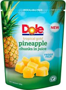 Half Price Dole Tropical Gold Pineapple Chunks in Juice - 60p @ Tesco