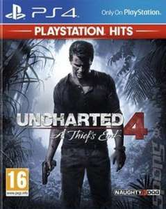 Uncharted 4 ps4 £10.39 music magpie (ONE LEFT)