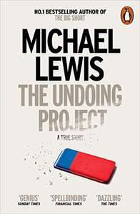Amazon Kindle Daily Deal - The Undoing Project; The Big Short; Flash Boys by Michael Lewis 99p each