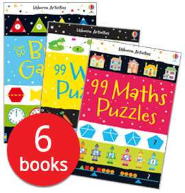 6 puzzle books  7.99 @ Book People (+ £2.95 Del / Free P&P on orders over £25 and £5 off £30 spend