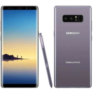 Samsung Galaxy Note 8 N950FD Dual sim 6gb ram 64gb - Orchid Grey with Generic 0.25mm Round Edged Tempered Glass Screen Protector £432.99 @Toby Deals
