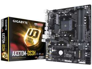 Gigabyte ax370m motherboard - free £30 steam voucher plus free £5.02 spend (see description) @ CCL Online