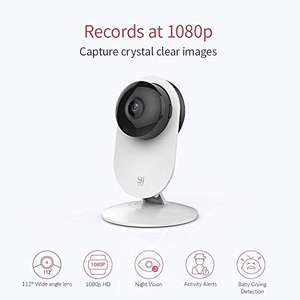 Lightning Deal - YI Home Camera 1080p FHD Wireless Wifi Camera Security IP Camera £28.79 Sold by YI Official Store UK and Fulfilled by Amazon