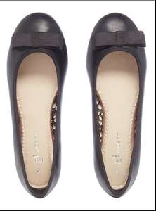 Wide Fit Ballerina Pumps (Available in Sizes 3 & 4) £3 @ Tu Sainsbury's (C&C £3 Or Free On Orders £15+)