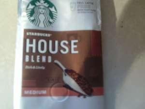 Buy Starbucks House Blend coffee for £2.75 @ Morrisons & get a free Tall latte at Starbucks