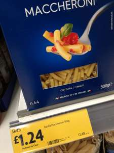 Cheap macaroni, what's not to like? £1.24@ Morrisons