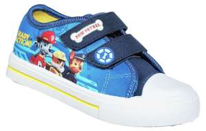 Paw Patrol Boys' Blue Canvas Trainers - Size 5 infant £5.99 delivered @ argos ebay