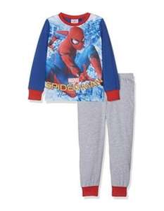 Spiderman Long Sleeve Pyjama Set, (7-8 Years) - £4.05 @Amazon (sold and fulfilled by amazon) ADD ON ITEM — RRP £14.00