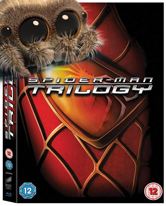 Spider-Man Trilogy [Blu-ray] [Region Free] Super Hero Super Cheap! @Amazon discount offer