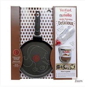 TEFAL pancake pan 25cm with nutella jar £12.95 delivered @ MyShop