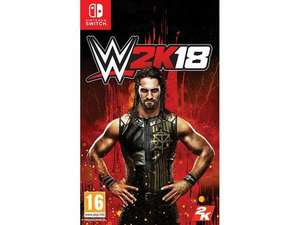 WWE 2K18 for the Nintendo Switch @  Coolshop.co.uk £10.95
