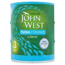 John West Tuna Chunks 3 Pack - Aldi £2.50