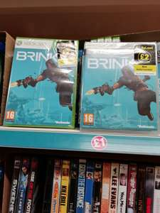 Brink xbox and ps3 at Poundland for £2