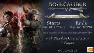 Soulcalibur VI beta 28th - 30th Sept. (next weekend) Xbox one & PS4