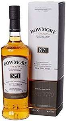 Bowmore No1 Single Malt Whisky 70cl £22.40 @ Amazon