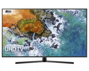 """Samsung UE55NU7400 55"""" £629 @ Crampton & moore - could get John Lewis & partners or richer sounds to price match."""