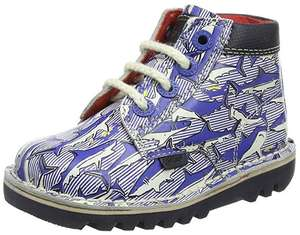 Kickers Baby Boys Joules Collaboration Kick Hi Ankle Shoes size 5 £18.06 prime / £22.55 non prime at Amazon