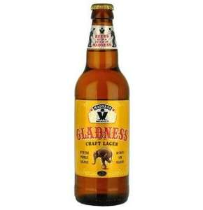 Madness 'Gladness' Craft Lager £1.09 for a 500ml bottle in Home Bargains