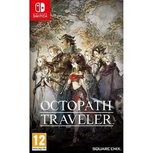 Octopath Traveler (Switch) £40.80 Delivered @ The Game Colelction