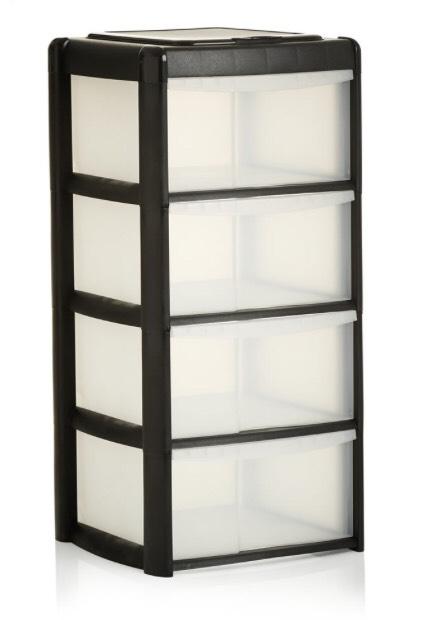4 drawer storage unit £10 @ Wilko