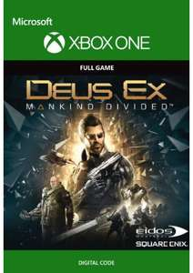 Xbox Deus Ex one mankind divided digital code £5.49 @ CDKeys