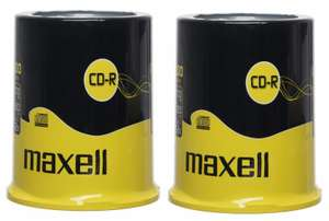 200 Maxell CD-Rs £23.98 (12p Each) @ WHSmiths Clearance (Free Delivery)