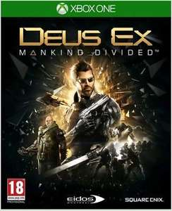 Deus Ex Mankind Divided Xbox one new and sealed £3.95 delivered @ escape_entertainment ebay