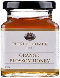 Picklecoombe House Jar of Orange Blossom Honey 340 g, Pack of 2 amazon add on item minimum 20 pound spend required - £4.85