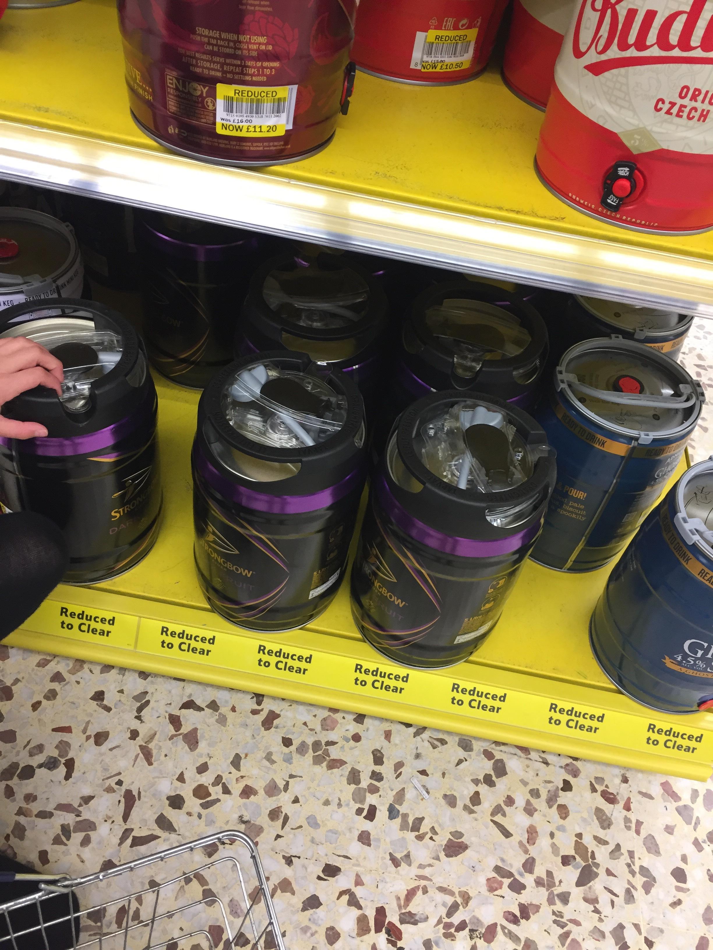 Strongbow Dark Fruits Keg - £10.50 instore @ Tesco (Hereford)