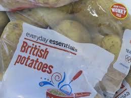 Aldi Everyday Essentials British White Potatoes 4Kg £1.39 In-store @ Aldi