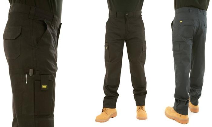 MIG mens work pants - £11.99 Delivered @ Groupon