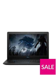DellG3 Series, Intel® Core™ I5-8300H, 8GbDDR4 RAM, 256GbSSD, 15.6 Inch Full HD Gaming Laptop With 4GbGeForce GTX 1050 Graphics With GAMING SOFTWARE PACK - £599 (with code) @ Very