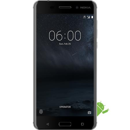 "Grade B Nokia 6 Black 5.5"" 32GB 4G Unlocked & SIM Free @ Laptops Direct"