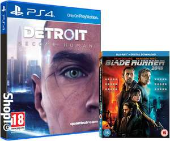 PS4 Detroit: Become Human + Blu-ray Blade Runner 2049 - £36.85 @ ShopTo