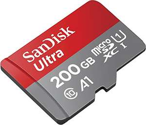 SanDisk Ultra microSDXC Memory Card + SD Adapter with A1 App Performance up to 100MB/s, Class 10, U1 - 200GB £39.99 @ Amazon // £36.69 @ Amazon.de