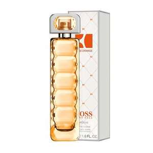 WOMEN BOSS Orange Eau de Toilette Spray 75*ml with free Jean Paul Gaultier Scandal By Night sample* - £28.75 (£30.74 with delivery) also 5.05% Topcashback @ Fragrance Direct