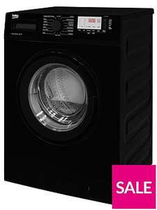 Beko WTG741M1B 7kg Load, 1400 Spin Washing Machine - Black £199.99 + £6.99 Delivery At Very