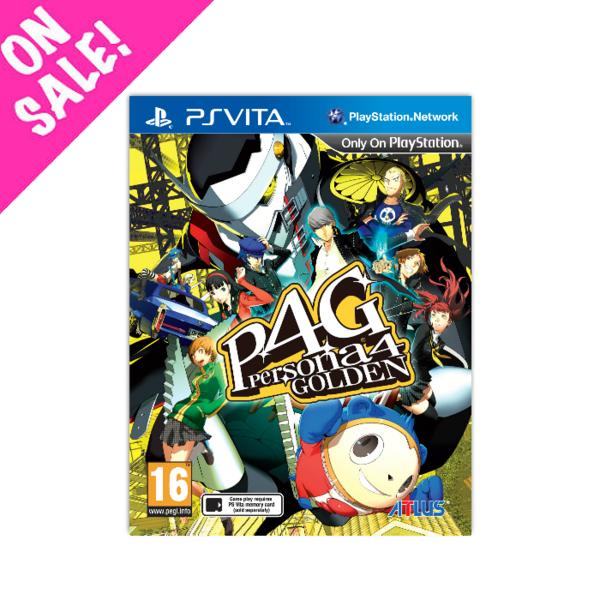 Persona 4 Golden (PS Vita) £15.48 (EU) / £13.32 (Non-EU) Delivered @ NISA