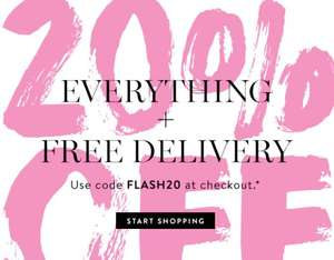 20% off everything including kits, free delivery and free sample eg cream shadow stick kit was £39.50 now £31.60 @ Bobbi Brown