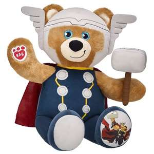 Build-a-Bear Comic Book Day Flash Sale - up to 50% Off Selected Hero Bears & Costumes eg Thor Bundle now £16.80