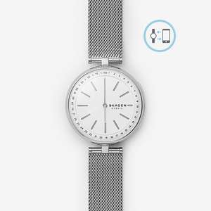 Women's Hybrid Smartwatch - Signatur T-Bar Steel-Mesh watch £59 at Skagen (with newsletter signup)