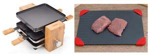 Princess Pure 4-Person Bamboo Raclette & Miracle ThawBoard Food Defrosting Tray £20 W/ Code @ Robert Dyas Clearance (Free C&C)