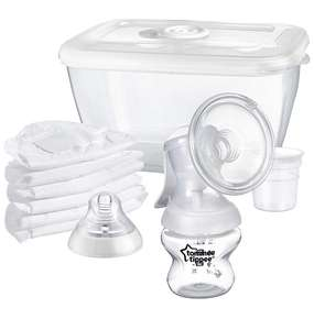 Tommee Tippee Manual Breast Pump now £13 (Prime) / £17.49 (non Prime) at Amazon