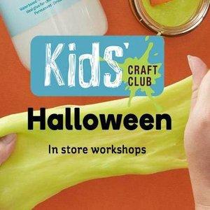 FREE Halloween Themed Craft Workshops for Kids Oct Half Term @ Hobbycraft (Mon 22nd Oct - Fri 2nd Nov)