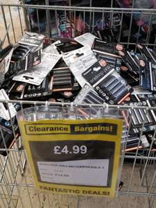 4x Panasonic Eneloop Pro AAA rechargeable batteries £4.99 @ Clearance Bargains in Stanley County Durham