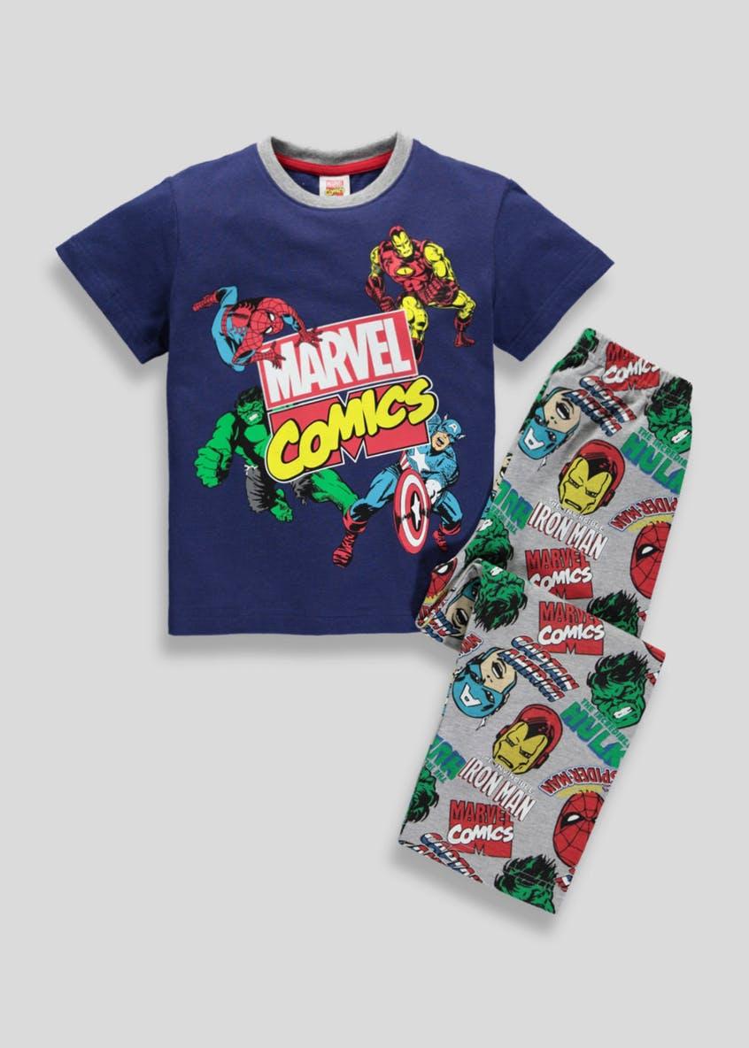 Kids Marvel Comics Pyjama Set 2-9yrs (was £10) Now £5.00 C&C at Matalan