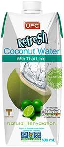 UFC Refresh Coconut Water with Thai Lime 500 ml  £8.41 (Pack of 12) sold by antom direct from amazon